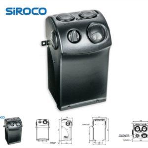 sähkötrukin lämmityslaite Siroco